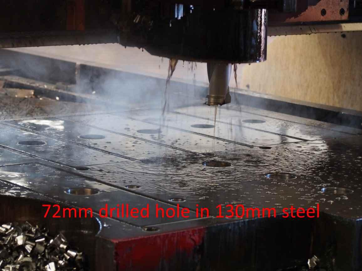 72mm In 130mm U-Drill
