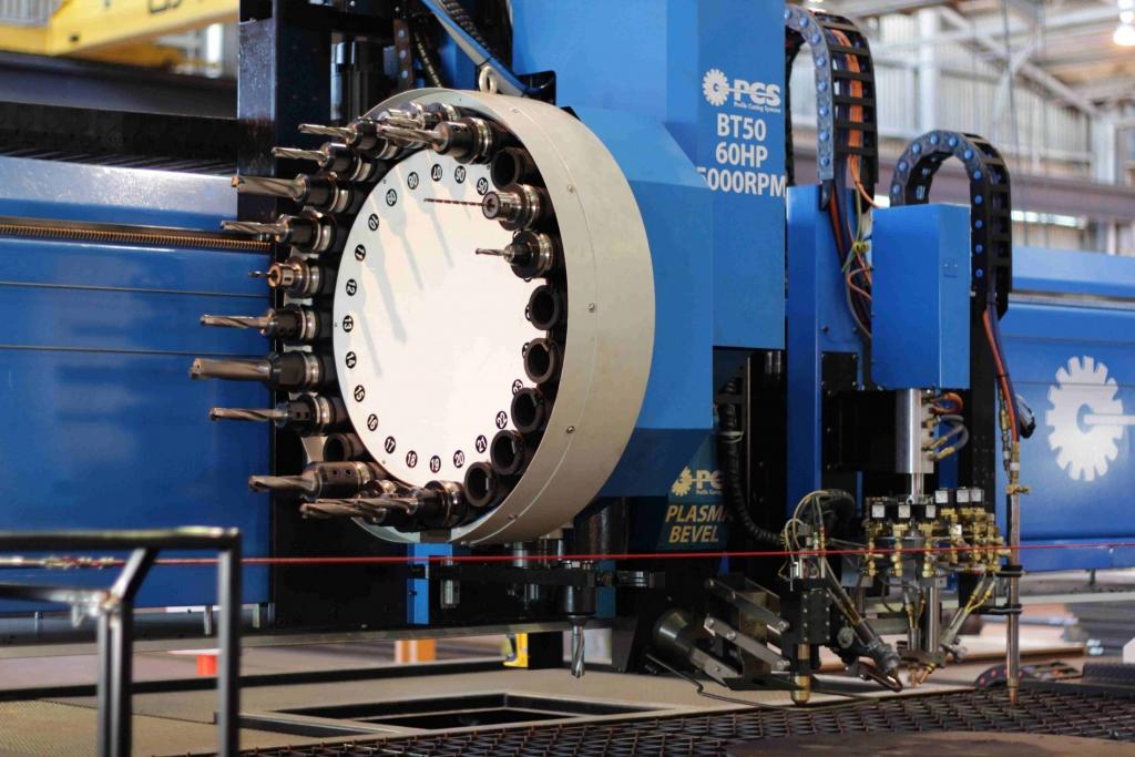 CNC Plasma Cutting & Drilling Machine