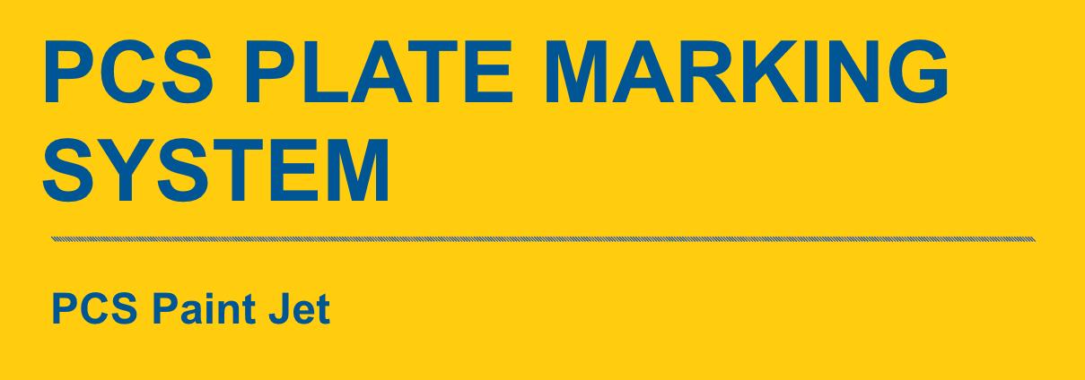 PCS Paintjet Marking Systems Banner