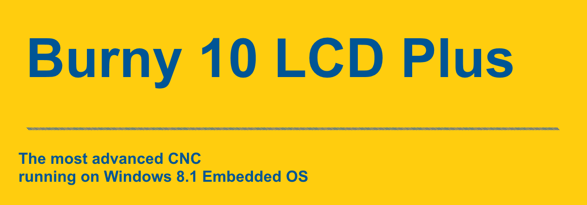 Burny 10 LCD Plus