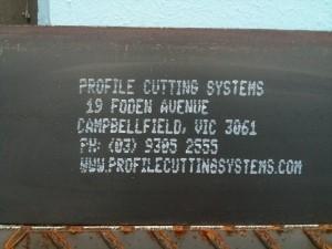 PCS Paint Jet Marking System