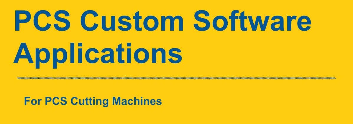Custom Plasma Cutting Machine Software