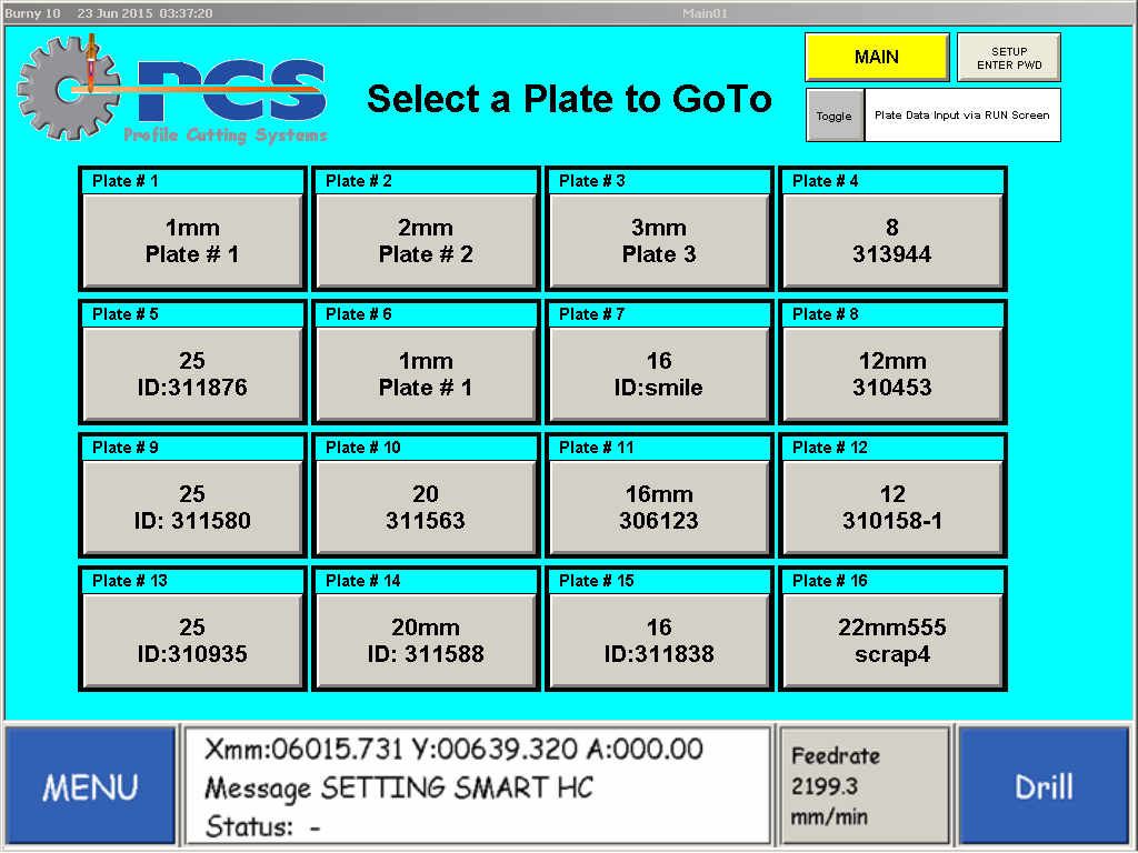 PCS Plate Alignment App Software Diagram 1