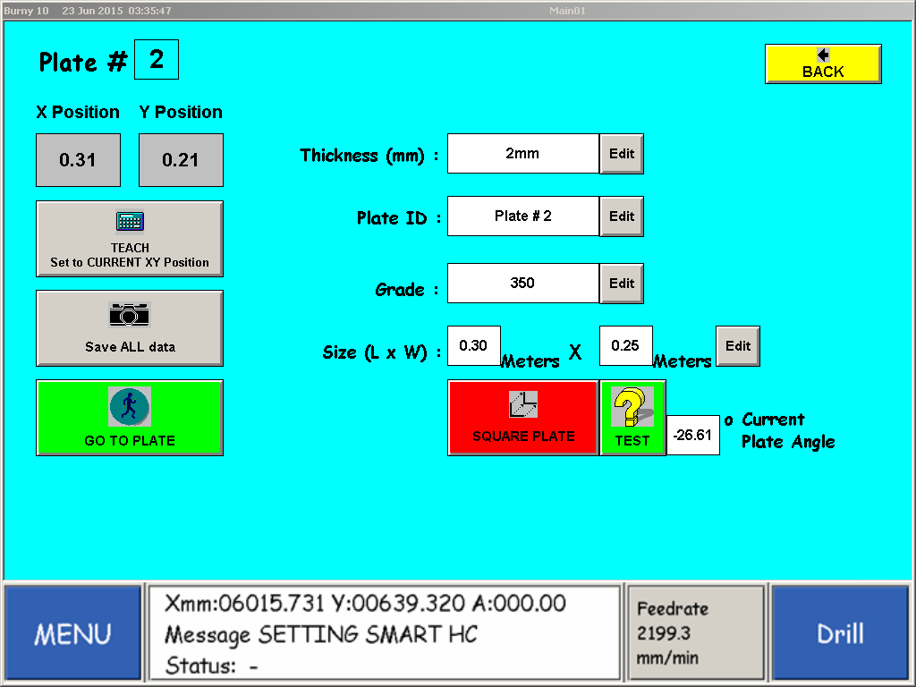 PCS Plate Alignment App Software Diagram 2