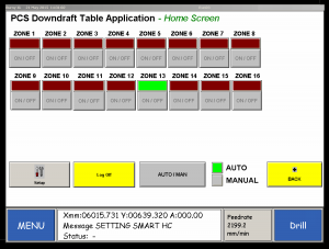 PCS Downdraft Table App Diagram 1