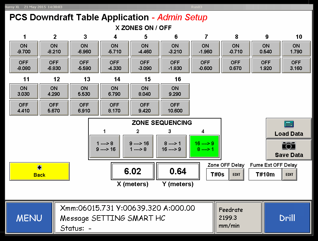 PCS Downdraft Table App Diagram 2