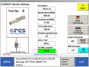 PCS Custom CNC Software