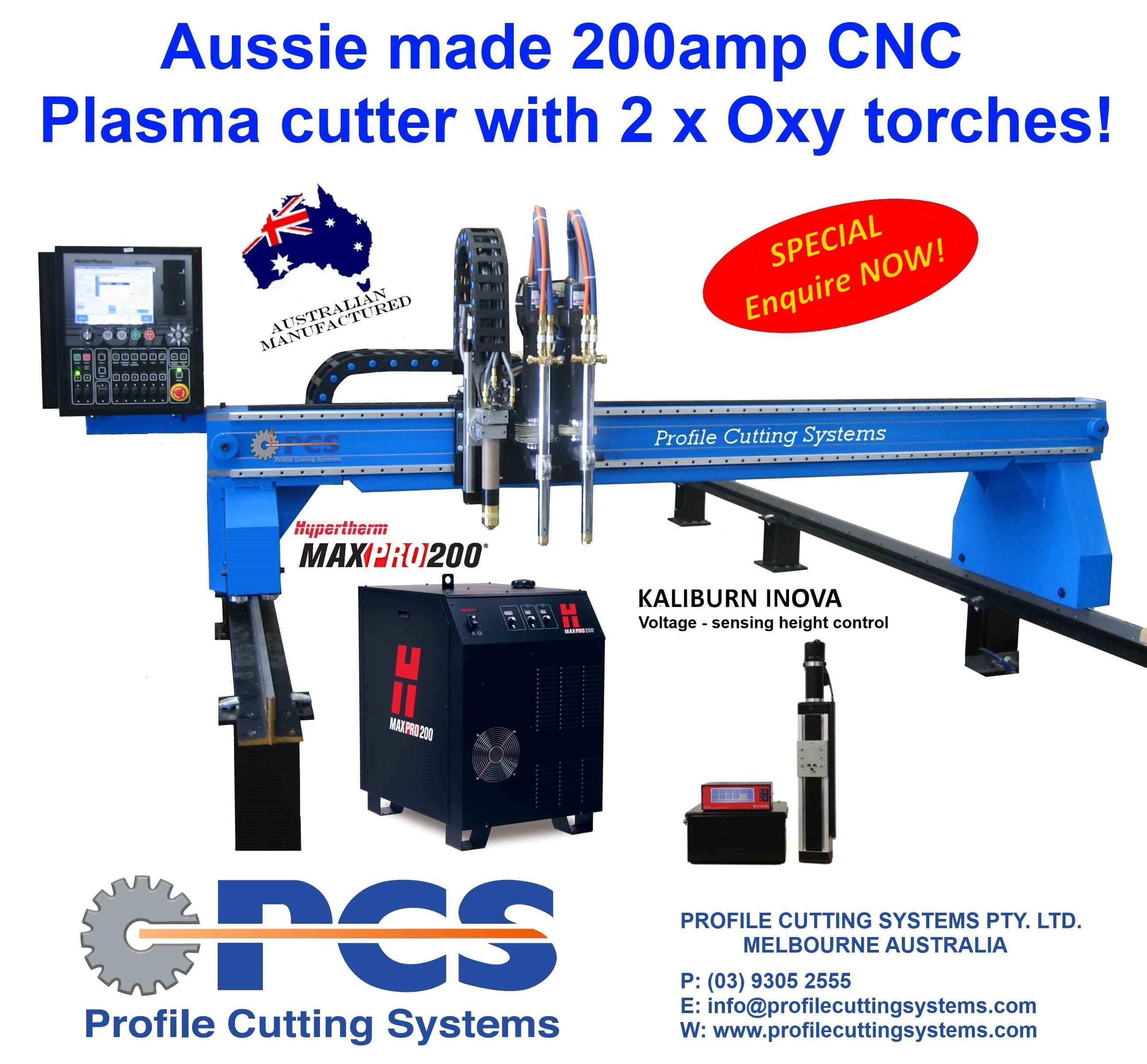 CNC Plasma Cutting Machine Deal