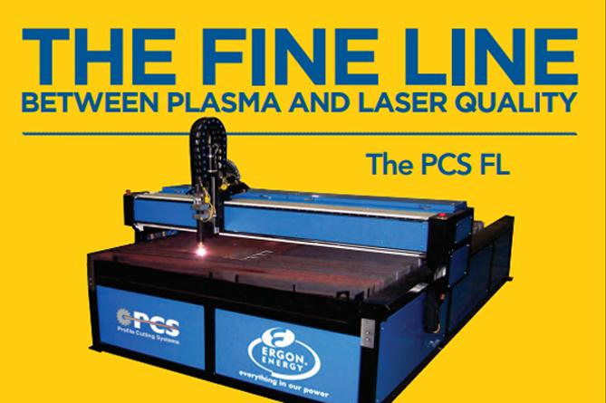 PCS CNC Plasma Laser Cutting Machine
