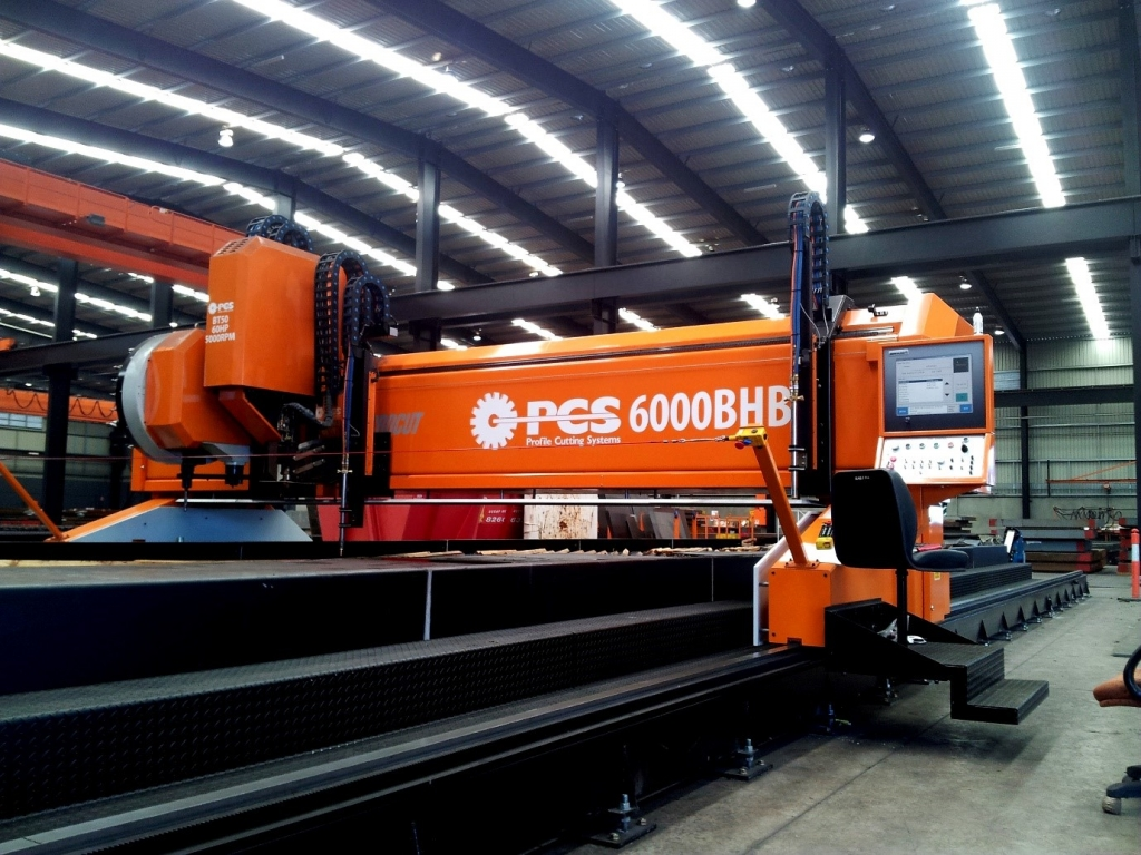 PCS BHB Orange 6000 CNC Plasma Cutter